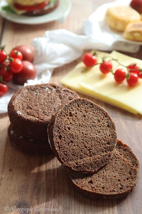muffins anglais au cacao sans gluten sans lait sans œufs