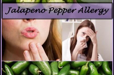 jalapeno pepper allergy