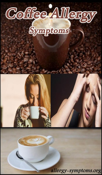 coffee allergy symptoms