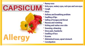Capsicum Allergy fb