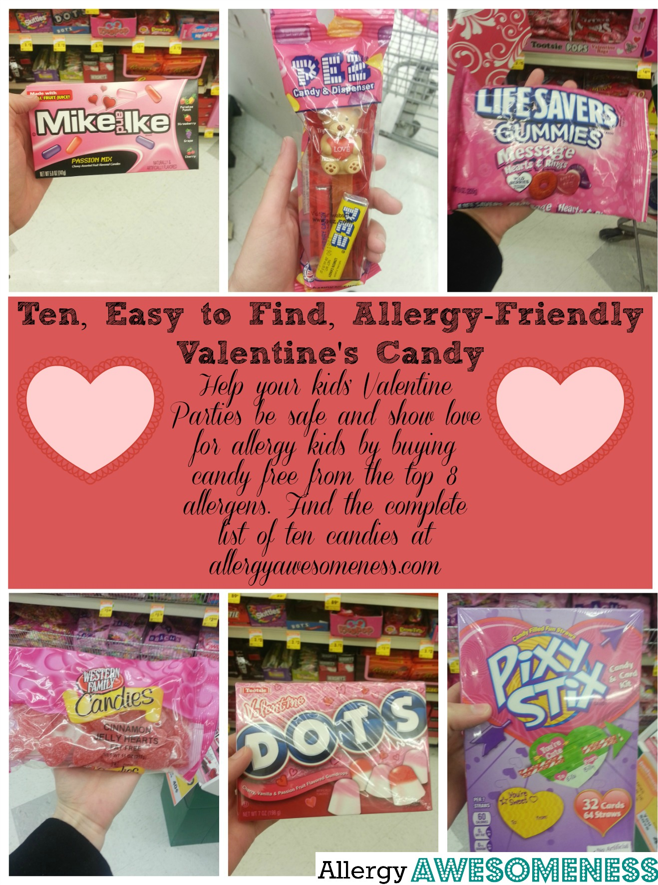 Food Allergy Friendly Candies For Valentines Day By Awesomeness