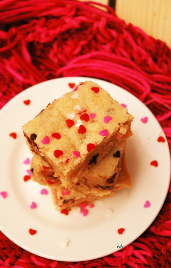 Chocolate Chip Cookie Bars (GF, DF, Egg, Soy, Peanut/Tree nut Free Soy, Top 8 Free, Vegan) copyright by Allergy Awesomeness