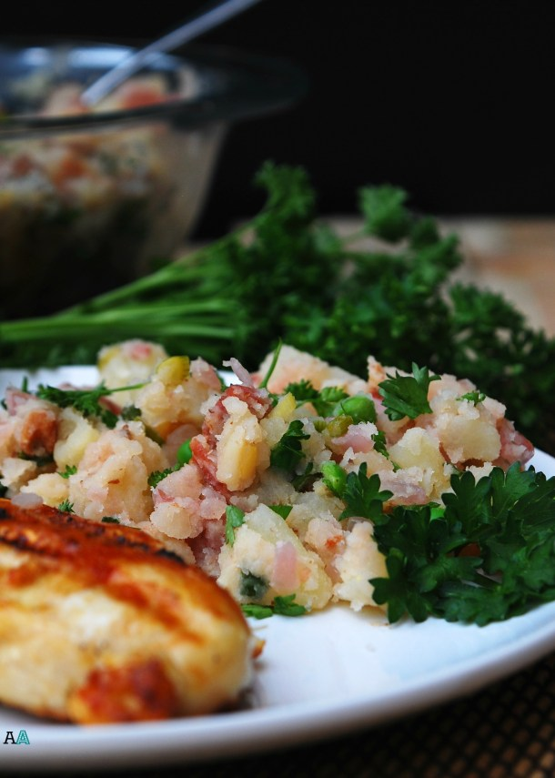 German Potato Salad (GF, DF, Egg, Soy, Peanut/Tree nut Free, Top 8 Free, Vegan Option) Recipe by Allergy Awesomeness
