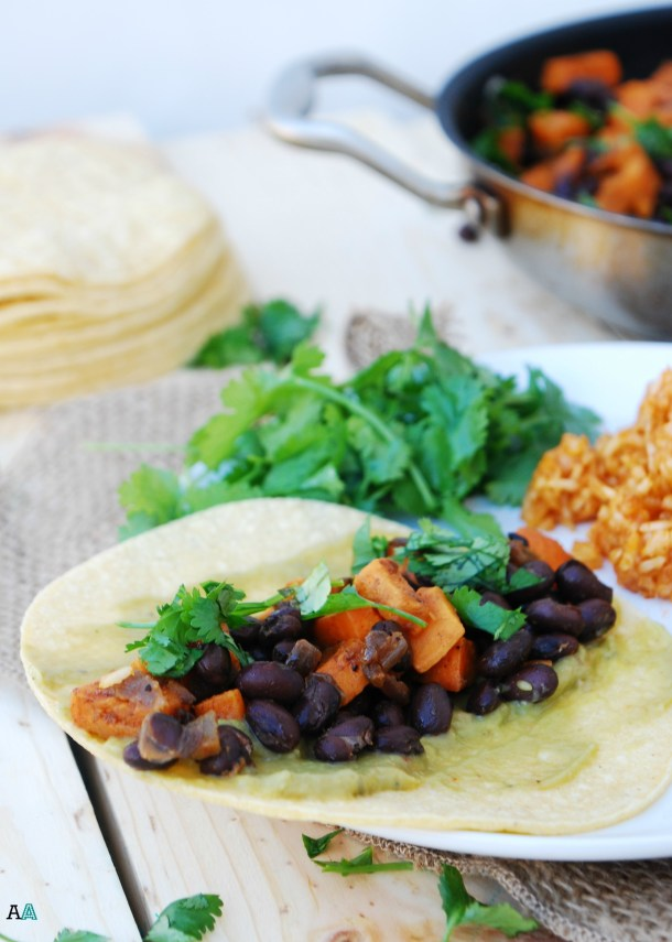 Sweet Potato, Black Bean & Lime Taquitos (GF, DF, Egg, Soy, Peanut/Tree nut Free, Top 8 Free, Vegan) Recipe by Allergy Awesomeness