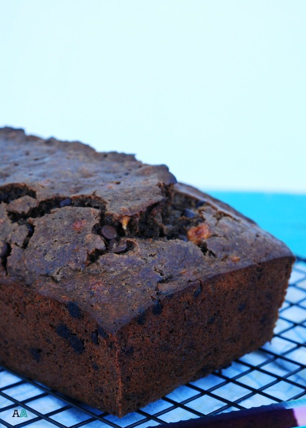 egg-free-chocolate-banana-bread