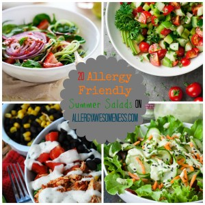20 Allergy Friendly Summer Salads by Allergy Awesomeness