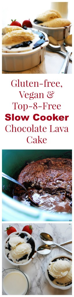 Gluten Free Chocolate Lava Cake Slow Cooker