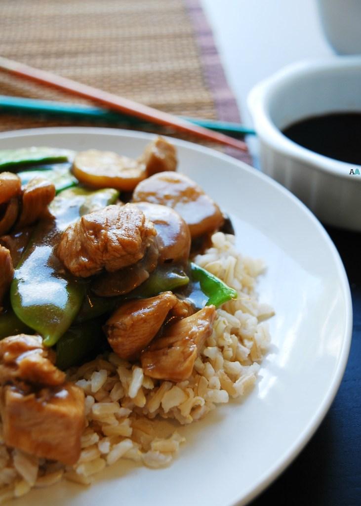 30 Minute Moo Goo Gai Pan (Gluten, dairy, egg, peanut adn tree nut free) Dinner recipe by AllergyAwesomeness.com