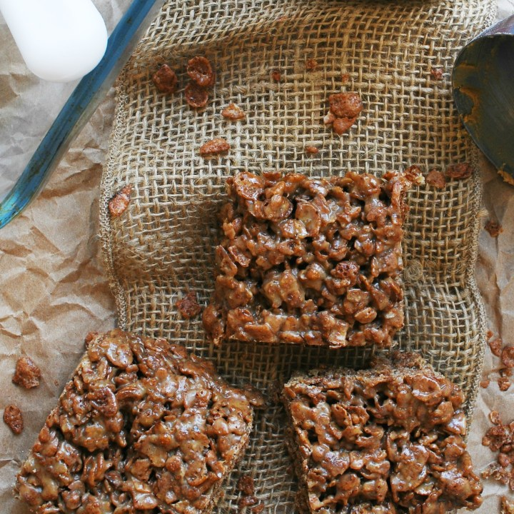 Inside Out Scotcheroos (Gluten, dairy, egg, soy, peanut & tree nut free; top 8 free; vegan)