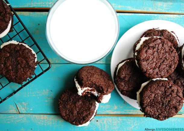 Allergy-friendly Homemade Oreo Recipe by AllergyAwesomeness.com