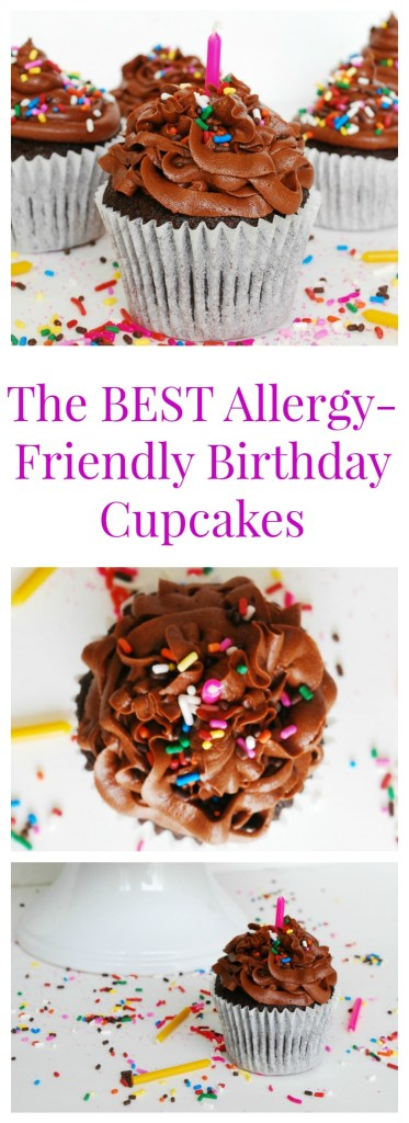 The Best Allergy Friendly Birthday Cupcake by AllergyAwesomeness