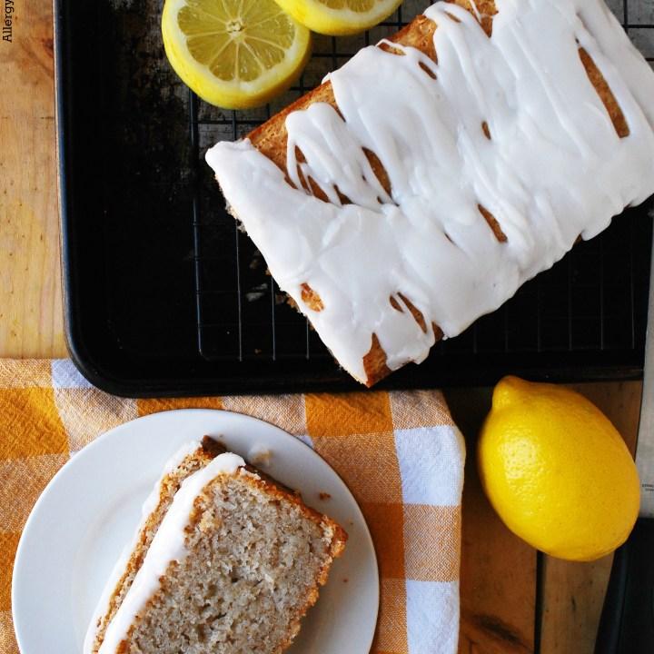 Lemon Bread Gluten-free Vegan Recipe by AllergyAwesomeness.com