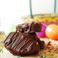 Chocolate Covered Cookie Dough Easter Eggs Made with Hope & Compassion