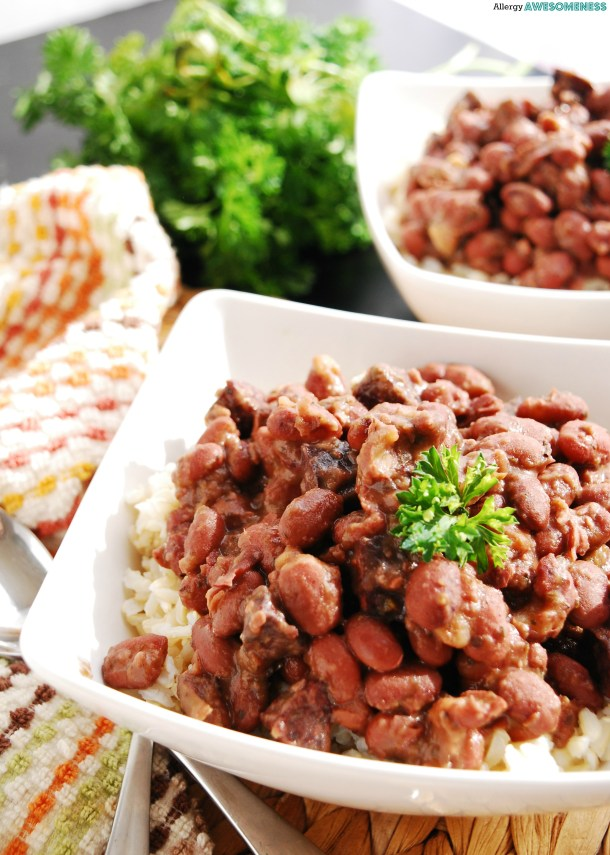 Gluten-free Red Beans and Rice by AllergyAwesomeness