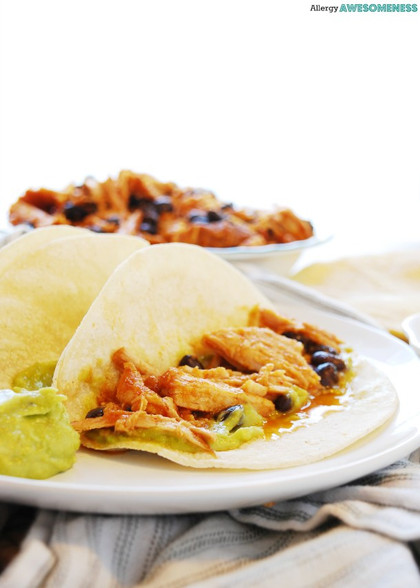 Slow Cooker Pineapple Chipotle Taco