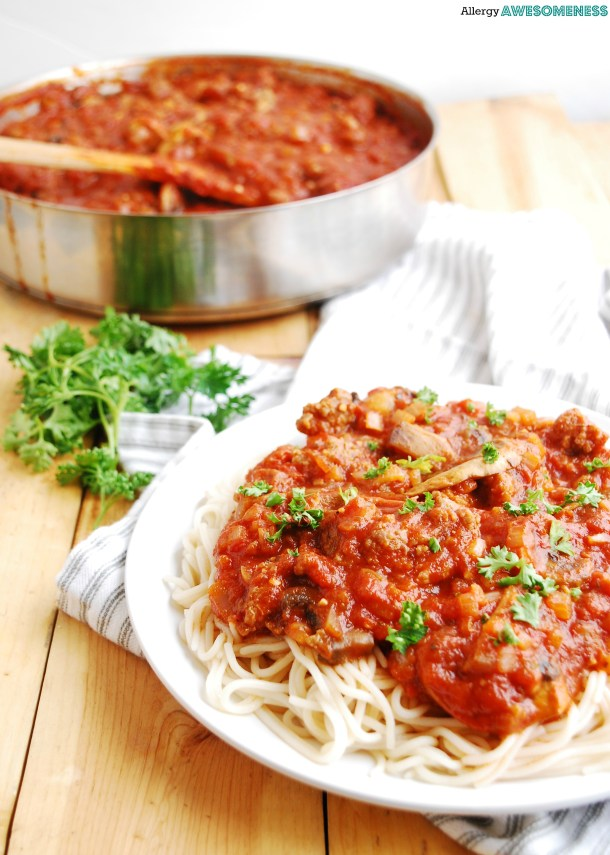 The BEST Ragu Sauce Recipe by Allergy Awesomeness