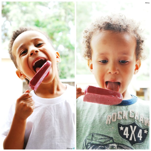 Protein Popsicle Your Kids Will Love by AllergyAwesomeness