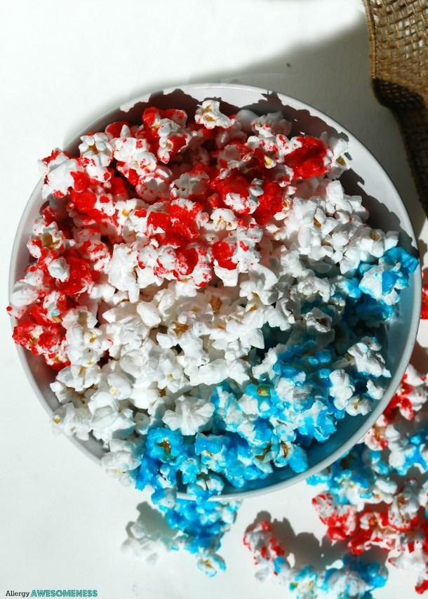Patriotic Popcorn Recipe