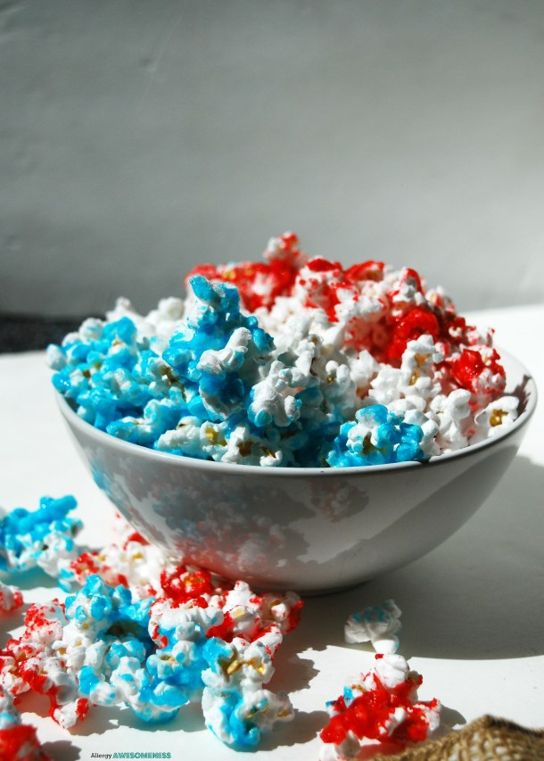 Red, White & Blue Popcorn Recipe
