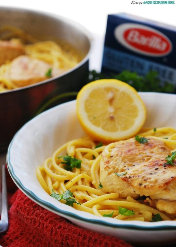 Easy gluten-free and dairy-free chicken dish