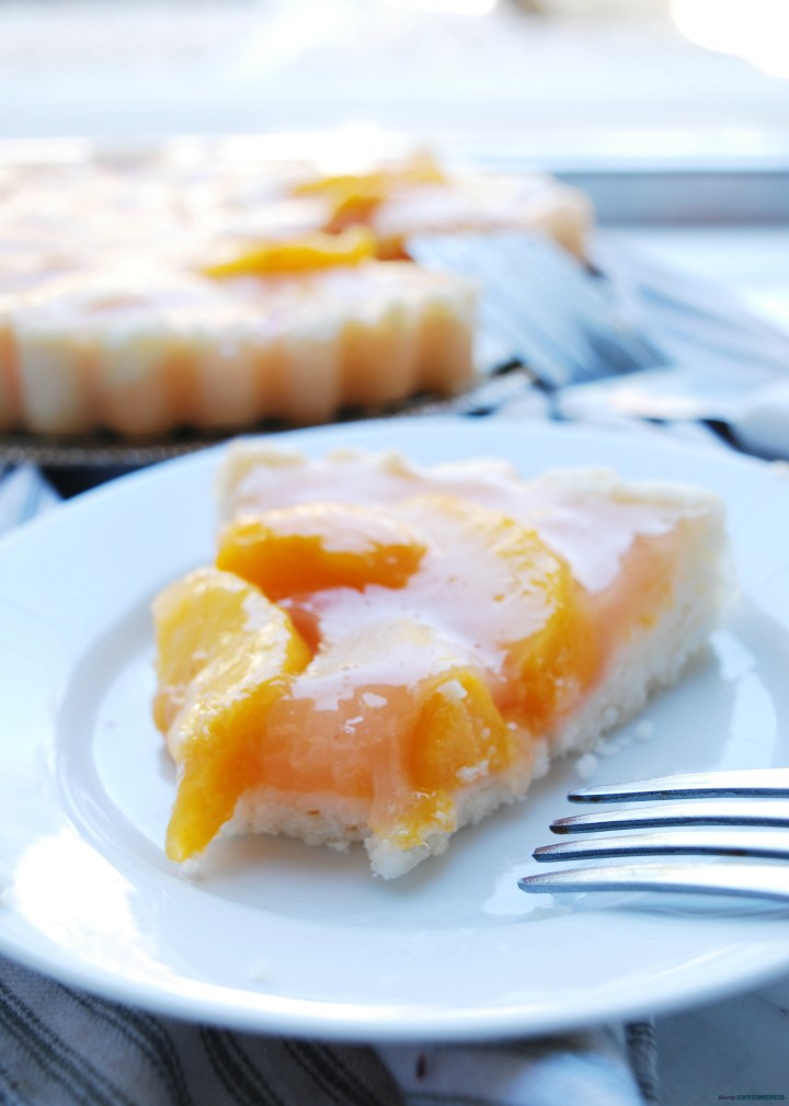 Egg-free Peach Pie