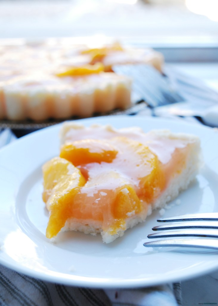 Egg-free Peach Pie