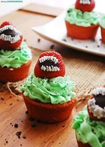 Gluten-free-vegan-Halloween cupcakes