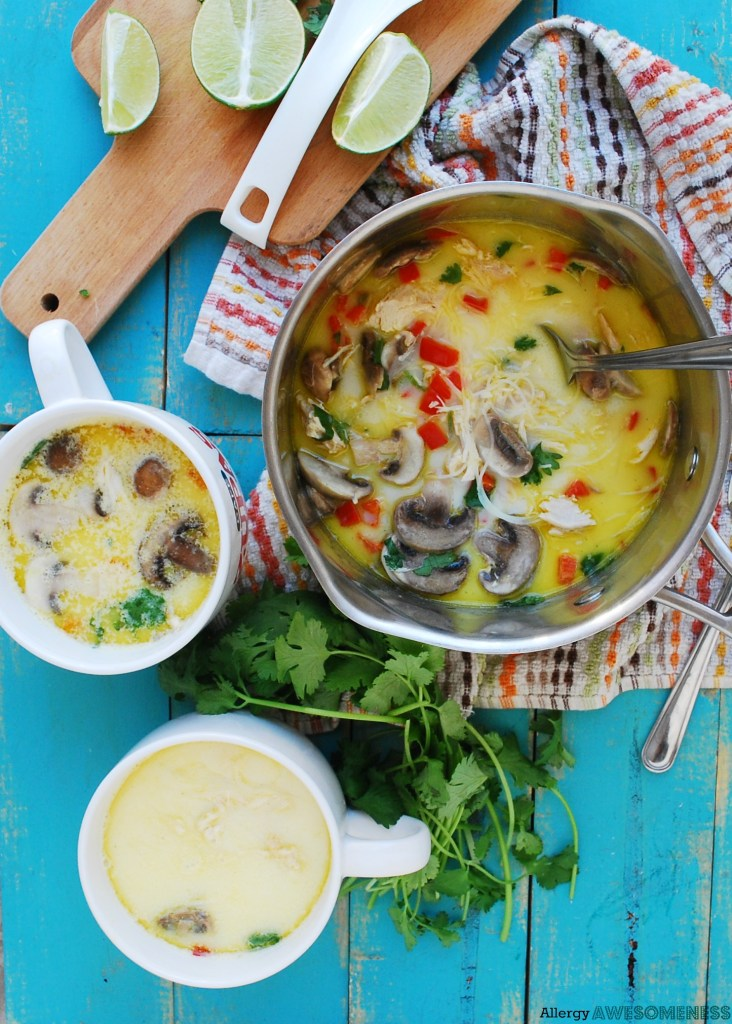 Soups for food allergies