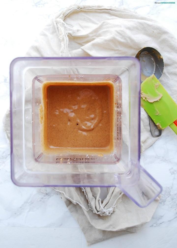 Homemade blender buckwheat waffle mix