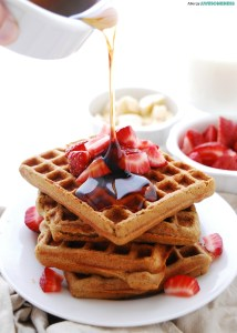 SunButter gluten-free waffles