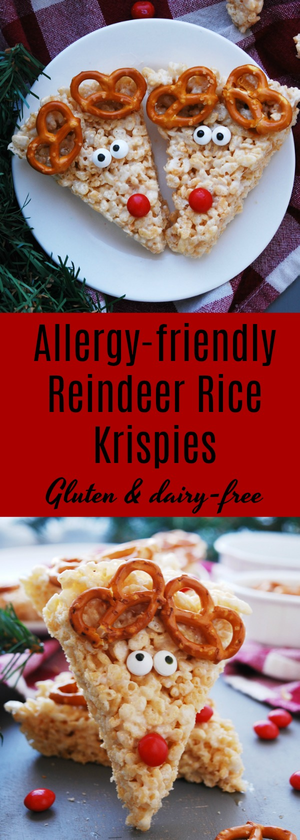 allergy-friendly reindeer rice krispies recipe