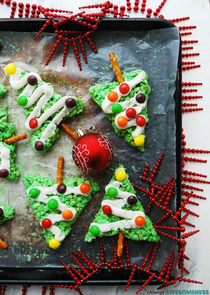 no bake allergy-friendly christmas treat