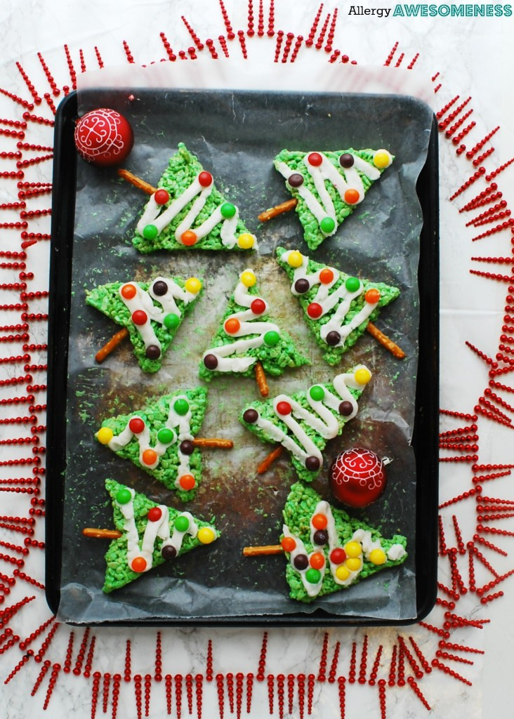 gluten-free no bake christmas tree