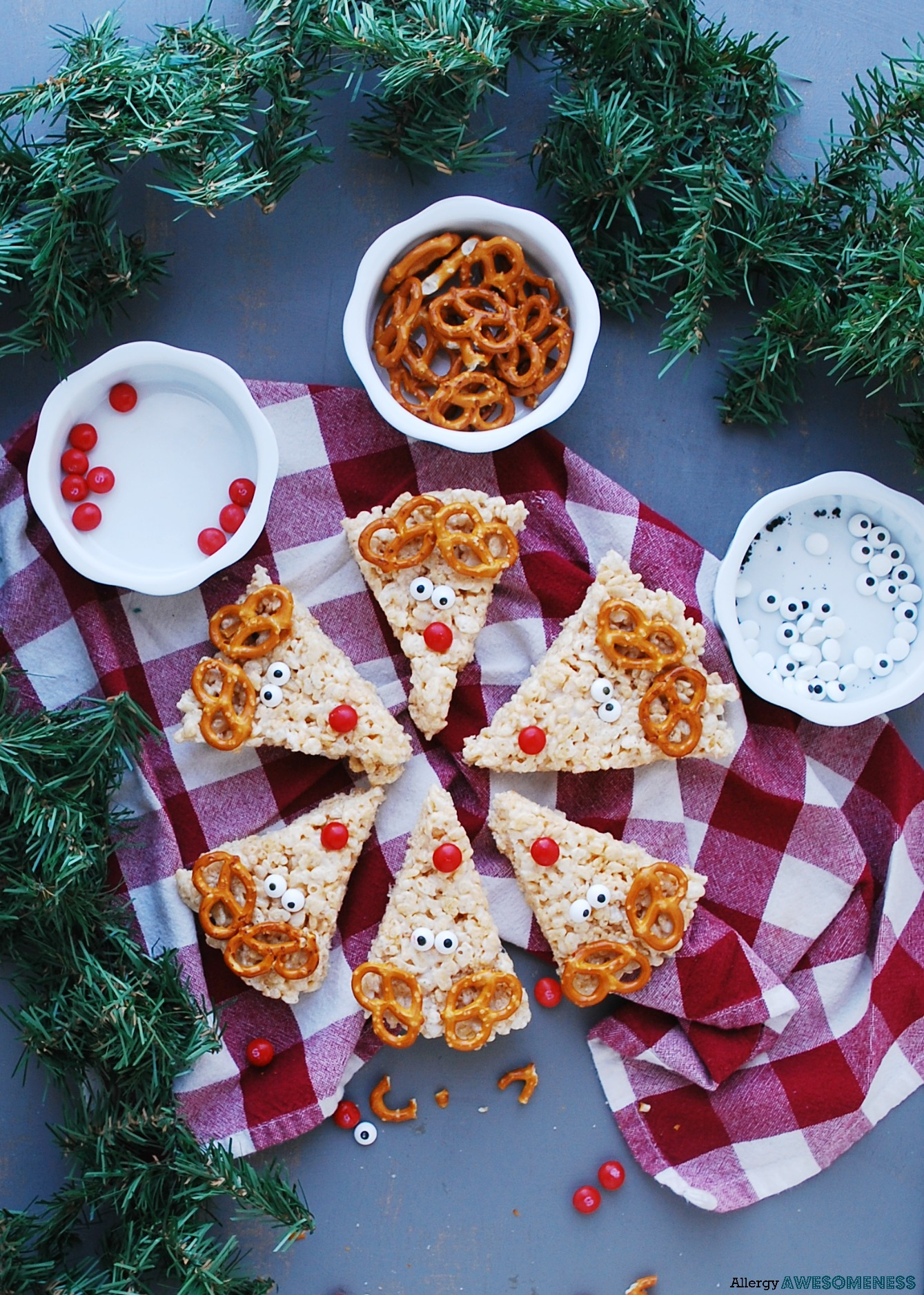 Rudolph Rice Krispies Recipe