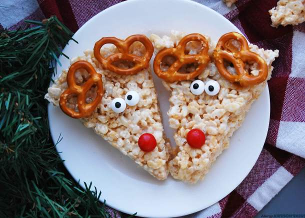 Allergy Friendly Reindeer Rice Krispies Allergy Awesomeness
