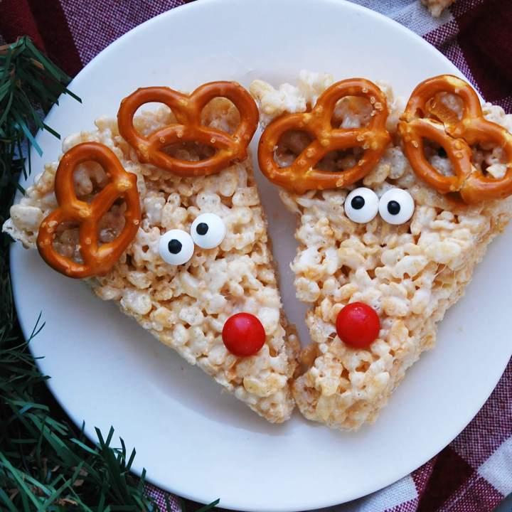 Allergy-friendly Reindeer Rice Krispies