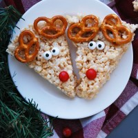 Allergy-friendly Reindeer Rice Krispies