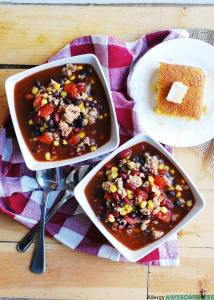 gluten-free taco soup recipe