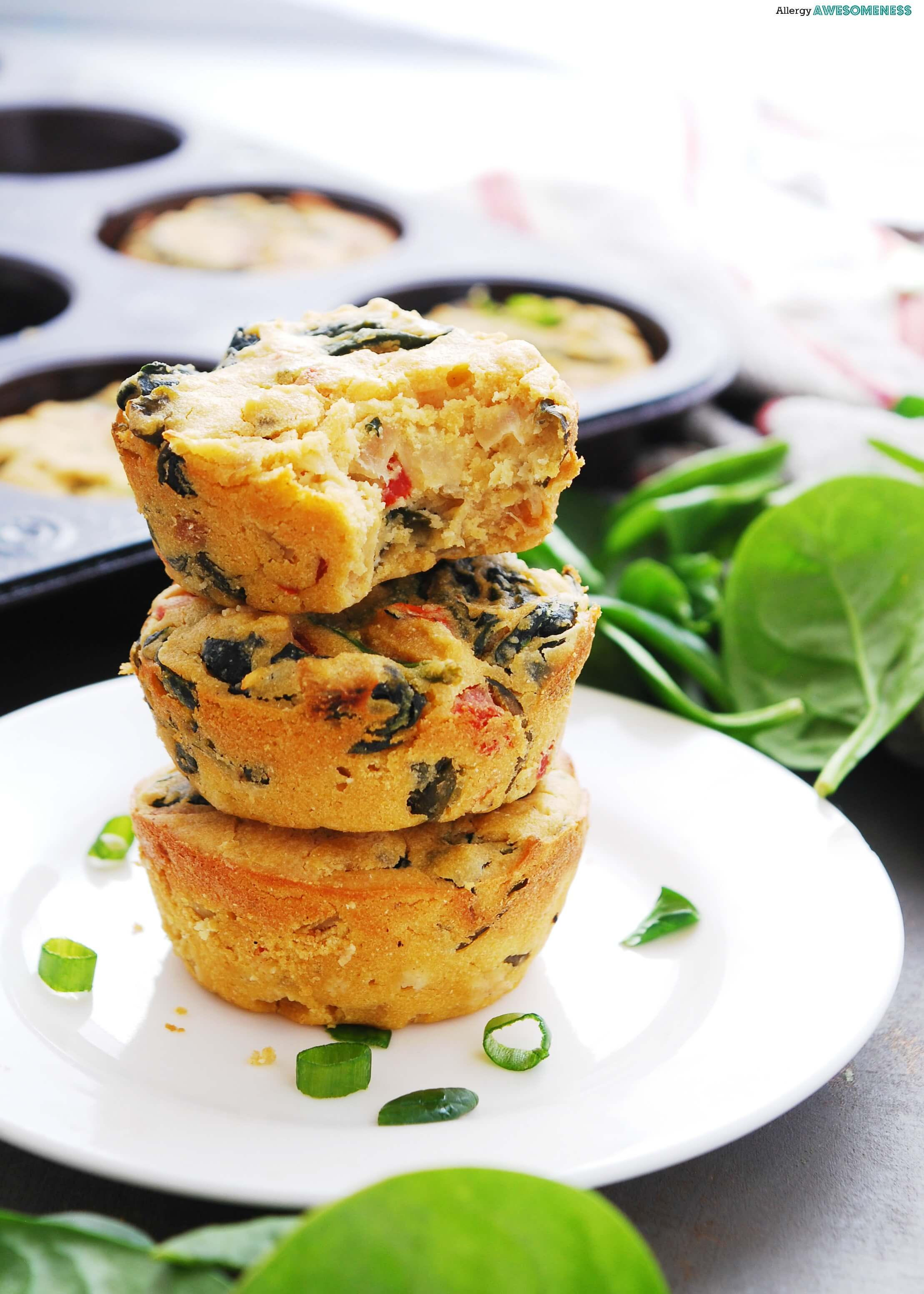 Egg Free Dairy Free Frittata Cups Allergy Awesomeness