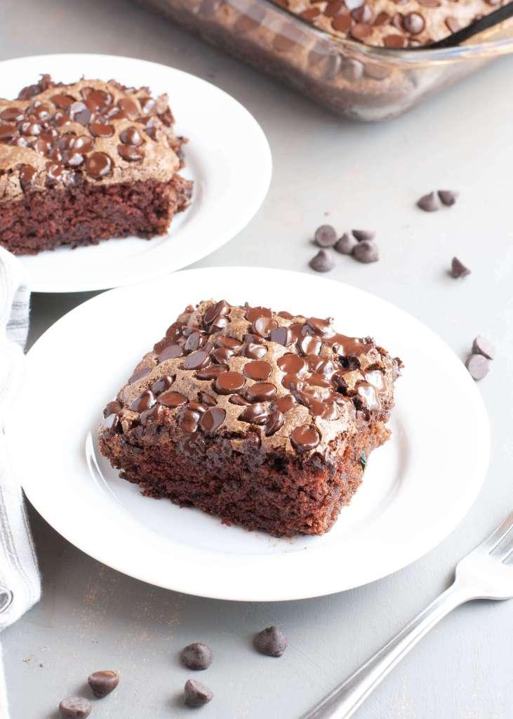gluten free vegan chocolate zucchini cake top 8 free too