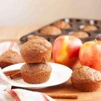 Cinnamon Applesauce Muffins (Gluten-free, Vegan, Top-8-free)