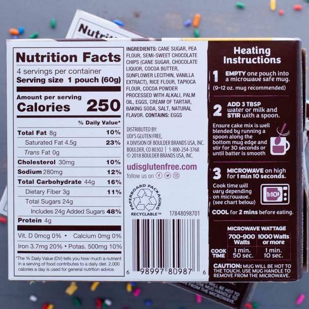Ingredients-in-an-Udis-chocolate-mug-cake
