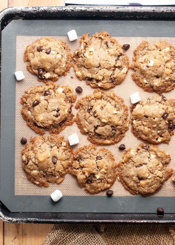 vegan-smores-cookies