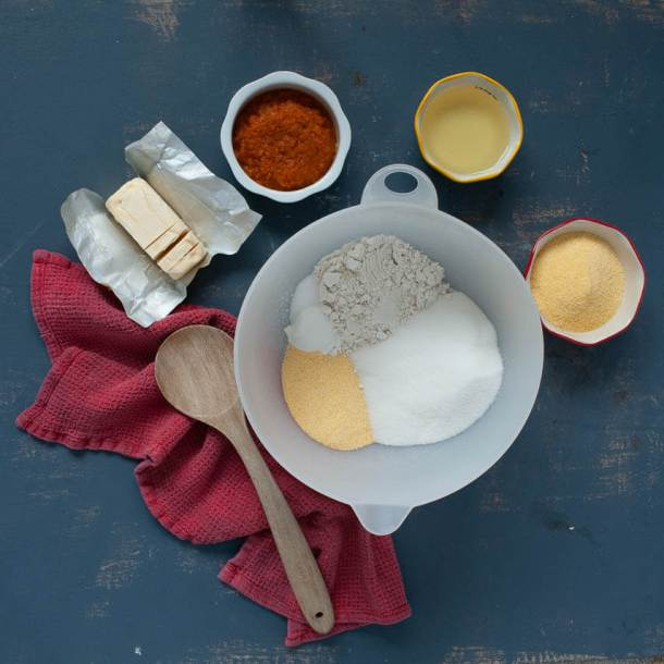 gluten-free-vegan-cornbread-ingredients