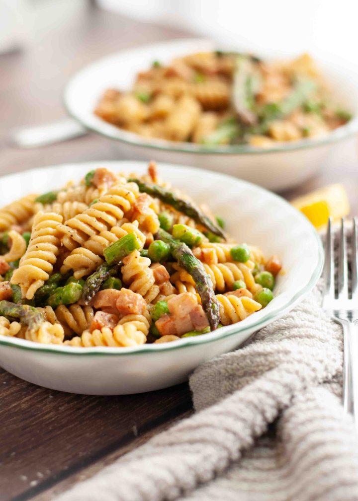 dairy-free-ham-asparagus-lemon-pasta-recipe