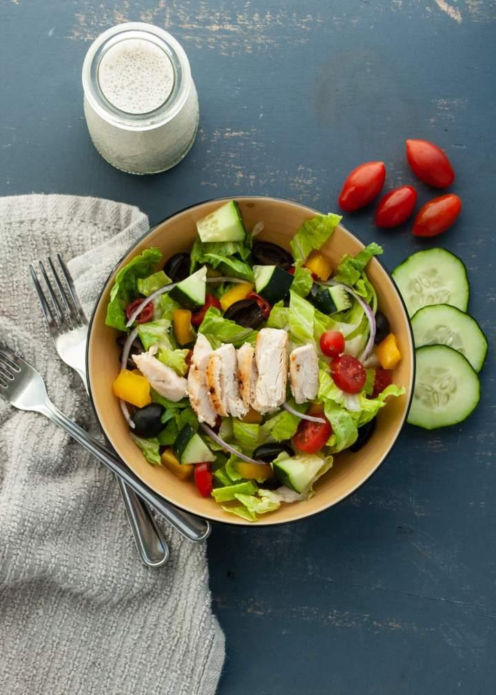 dairy-free-greek-salad-with-dairy-free-tzatziki-sauce