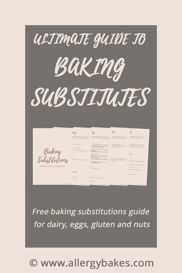 Ultimate guide to baking substitutes with freebie preview