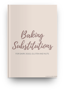baking substitutions guide freebie mock up