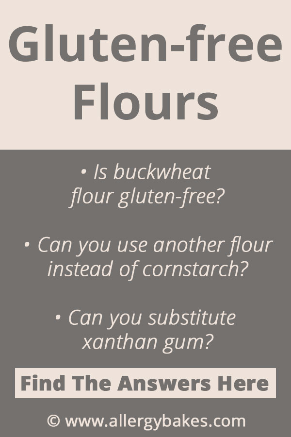 This blog post will help make your gluten-free baking easy. There are so many gluten-free flours you can eat. Including, amaranth, buckwheat, millet and teff. You can store gluten-free flour in the cupboard, fridge and freezer. | Click to find out more. | #glutenfreebakingtips #glutenfreeflourblendbaking #glutenfreeflour