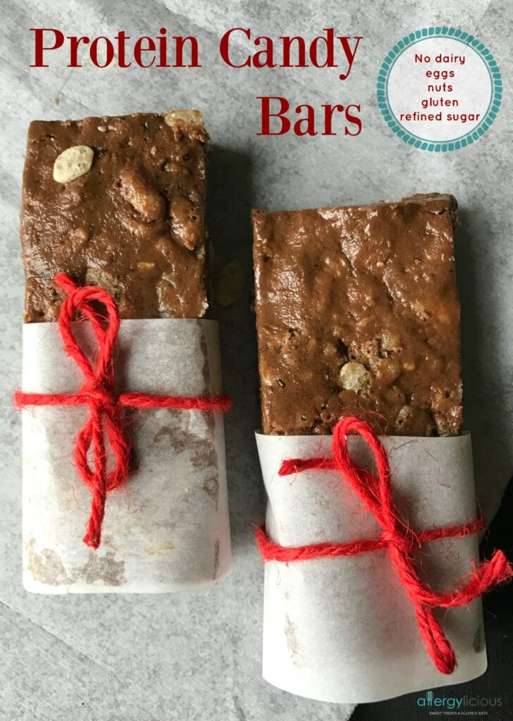 Homemade, Top 8 free & delicious! Easy to make, protein bars to make grab & go snacking healthier & allergy-friendly
